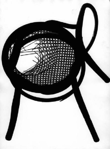 Franco Grignani, The curves of the Thonet, 50s
