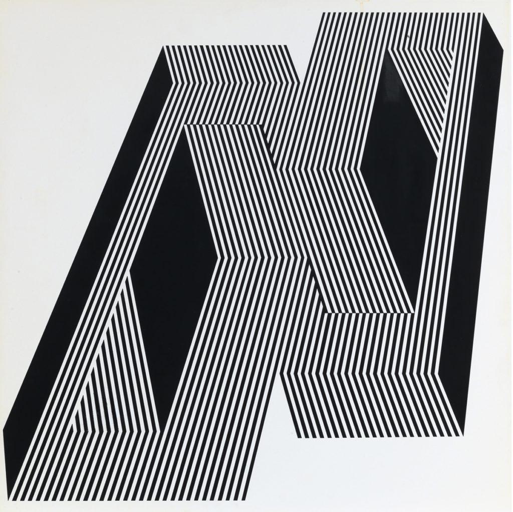 Franco Grignani, Psicoplastica, 1970