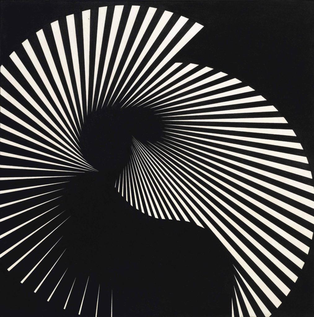 Franco Grignani, Floating tension n° 18, 1965