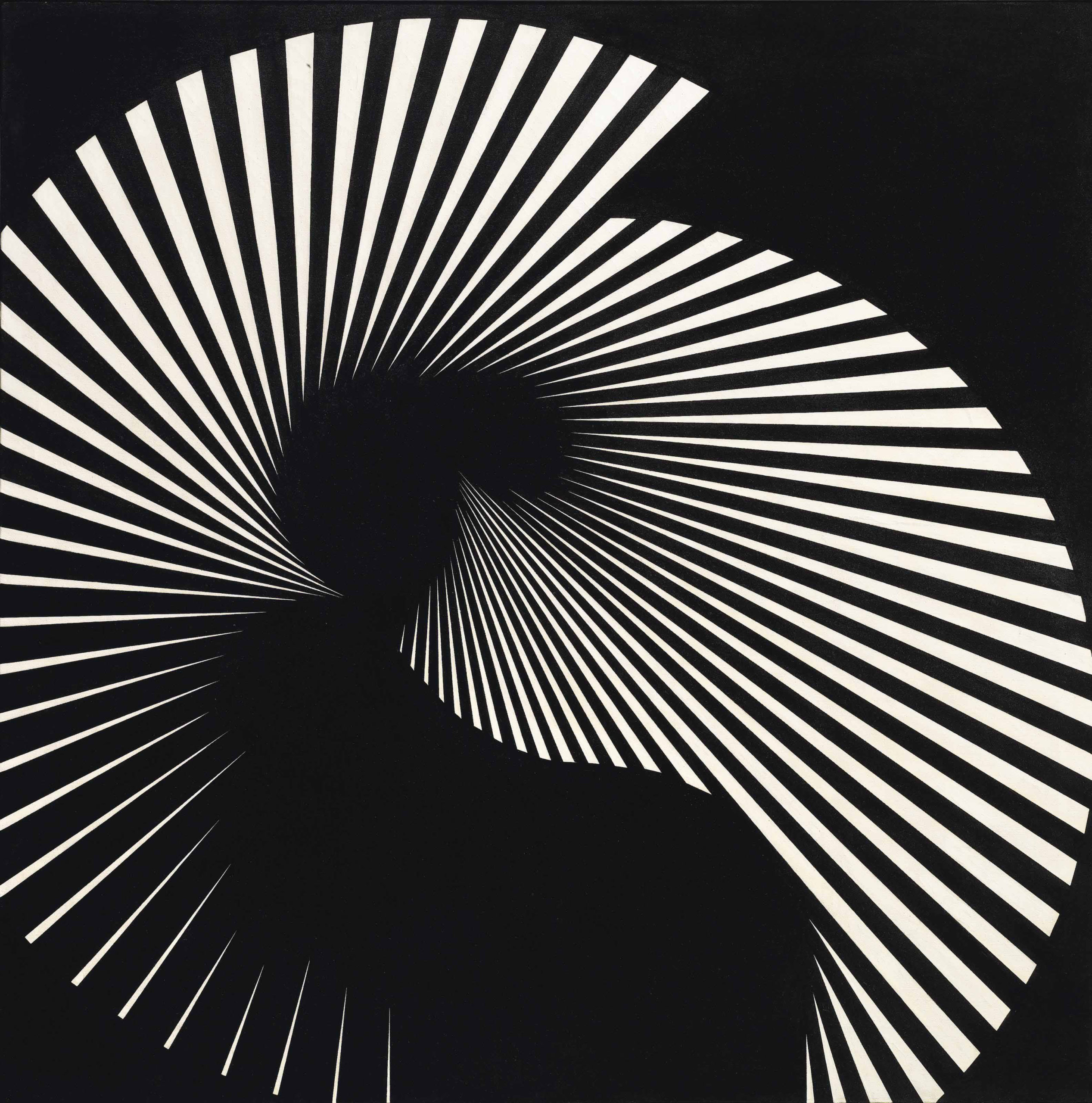 Franco Grignani, Floating tension n° 18, 1965
