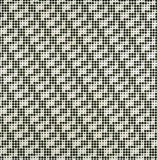 Franco Grignani, Orthogonal reticular field, 1975