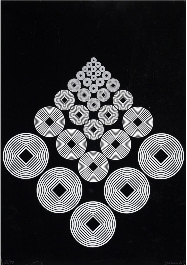 Franco Grignani, Silk-Screen Print
