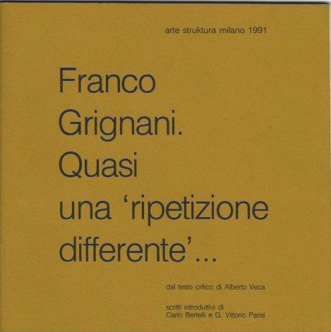 Franco Grignani, Galleria Arte Struktura, 1991