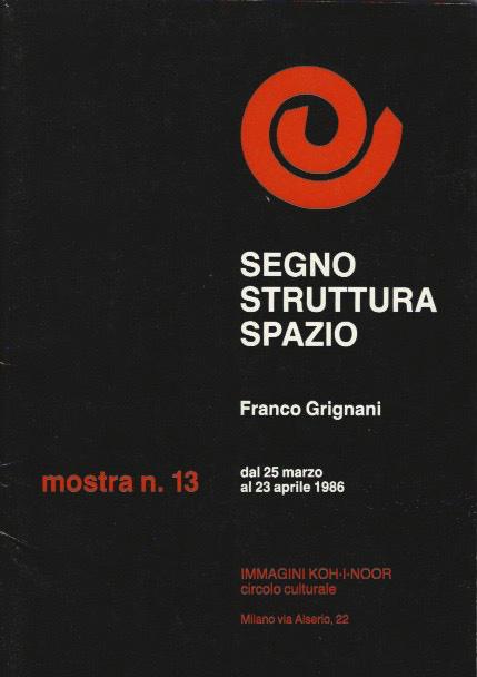 Franco Grignani, Circolo Culturale Immagini Koh-I-Noor, 1986