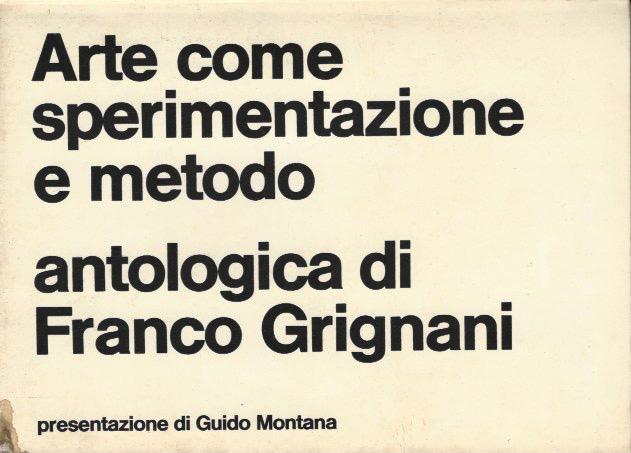 Franco Grignani, Galleria Marcon IV, 1974