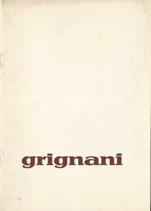 Franco Grignani, Galleria Peccolo, 1971