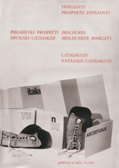 Franco Grignani, ad within Pubblicità in Italia, 1962