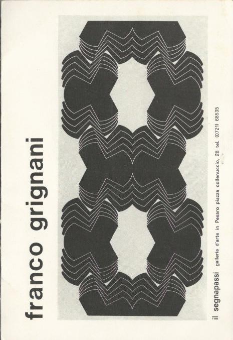 Franco Grignani, Galleria Il Segnapassi, 1971