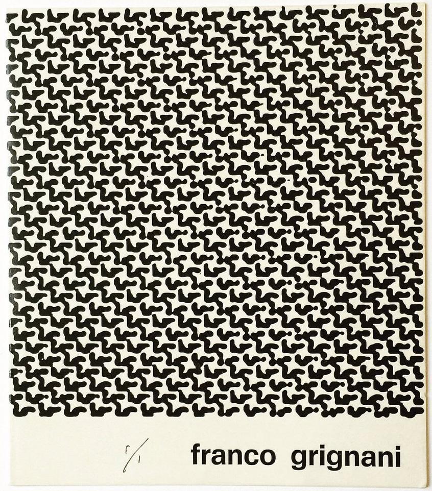 Franco Grignani, Galleria Andromeda, Bologna, 1974