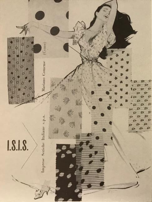 Jeanne Grignani, Ad for Bemberg, 1954