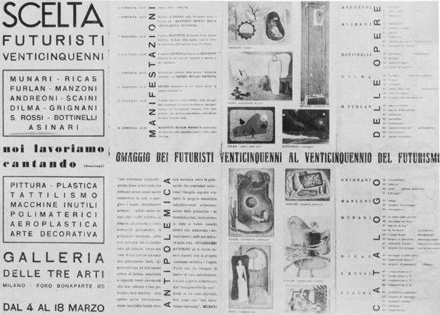 Milan, Scelta Futuristi Venticinquenni, 1934