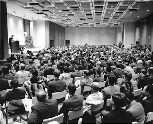 Vision 65, the conference audience
