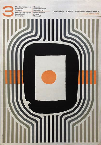 3rd Warsaw International Poster Biennale, 1970