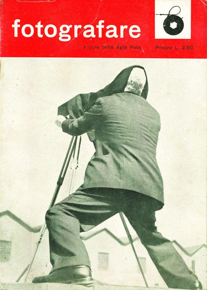 Franco Grignani, cover for fotografare - Agfa Foto, 1943