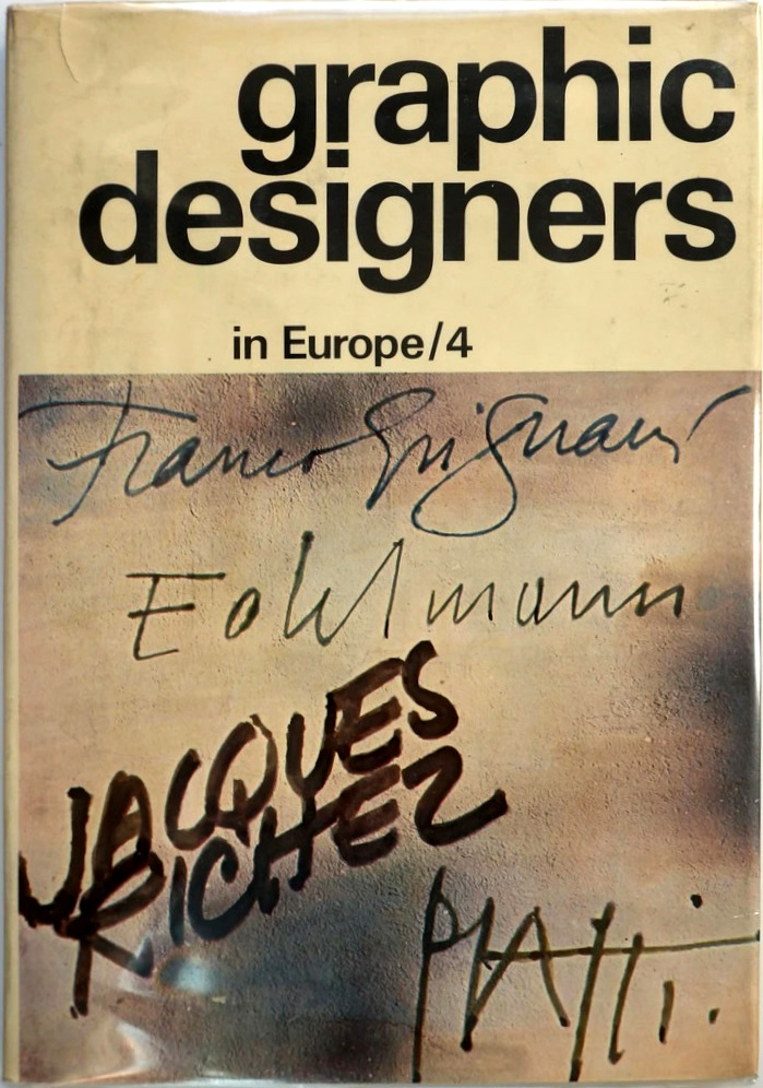 graphic designers in Europe/4, NY, 1973
