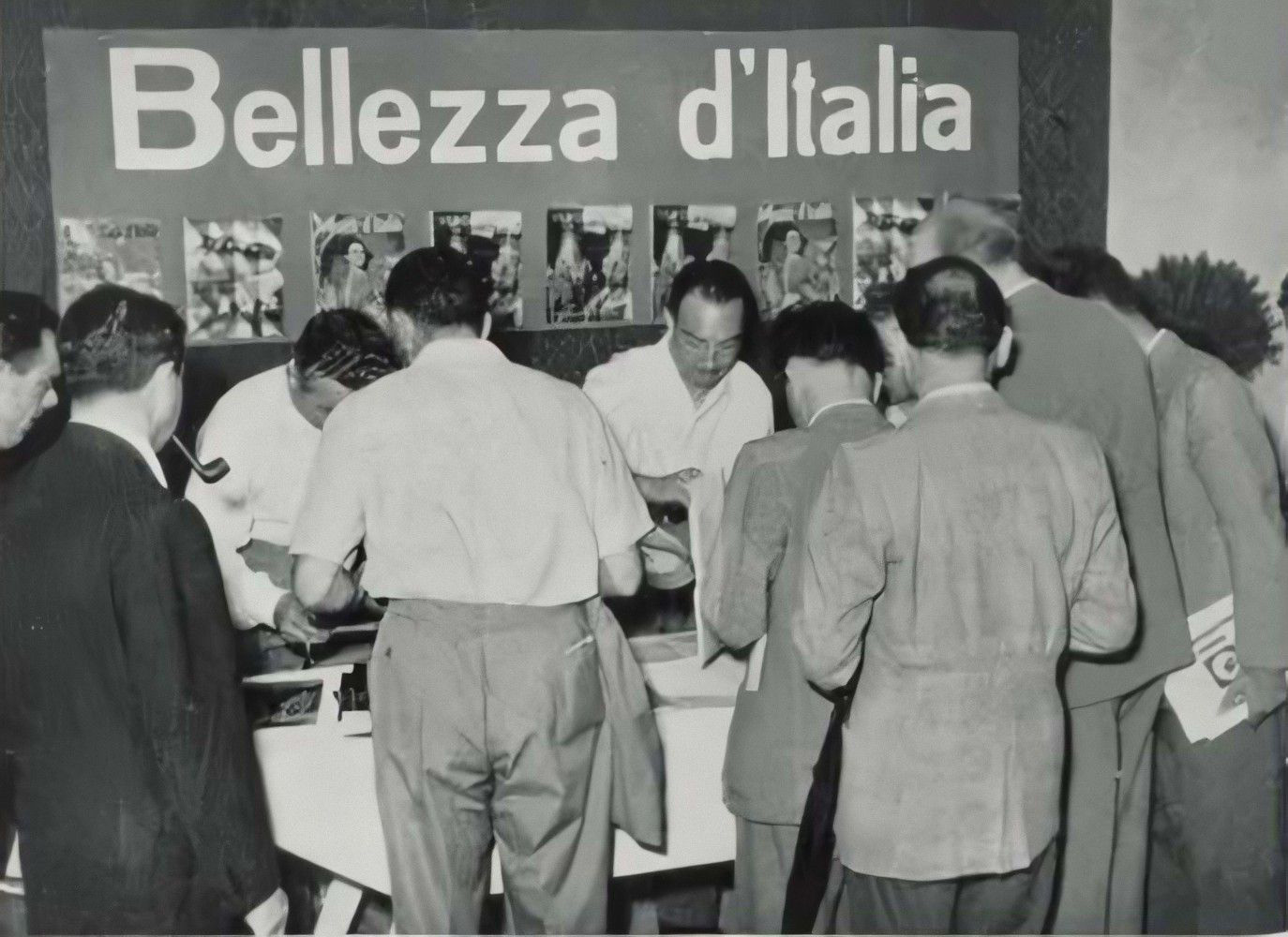 Bellezza d'Italia, Giornate mediche internazionali, Verona, 1950