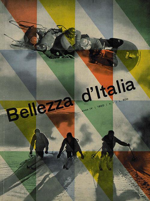 Franco Grignani, Bellezza d'Italia, 1950