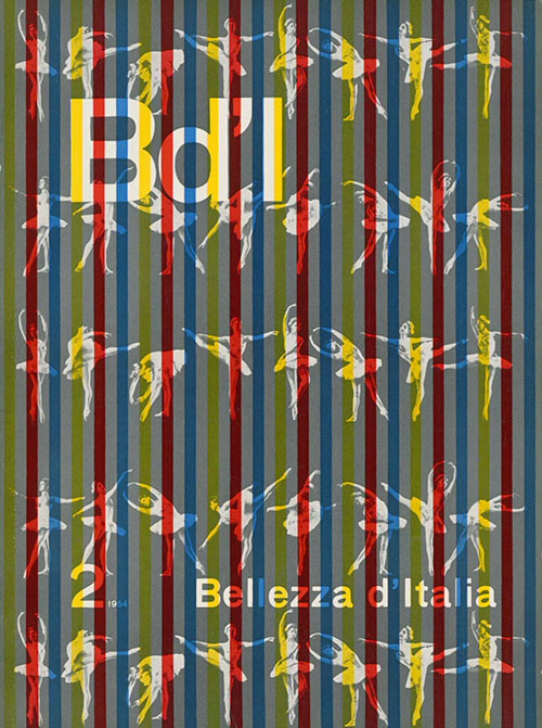Franco Grignani, Bellezza d'Italia, 1954