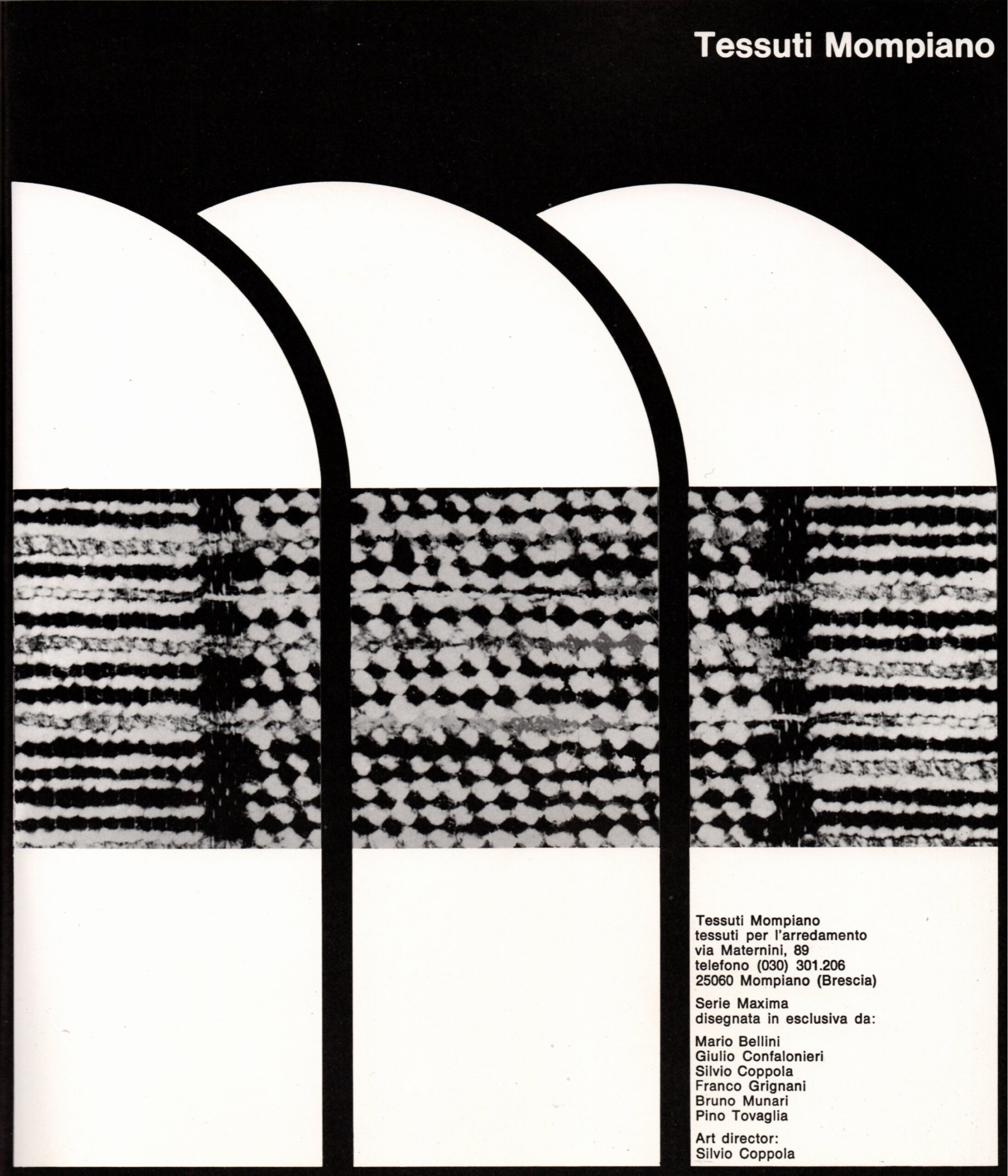 ED Group for Tessuti Mompiano, 1973