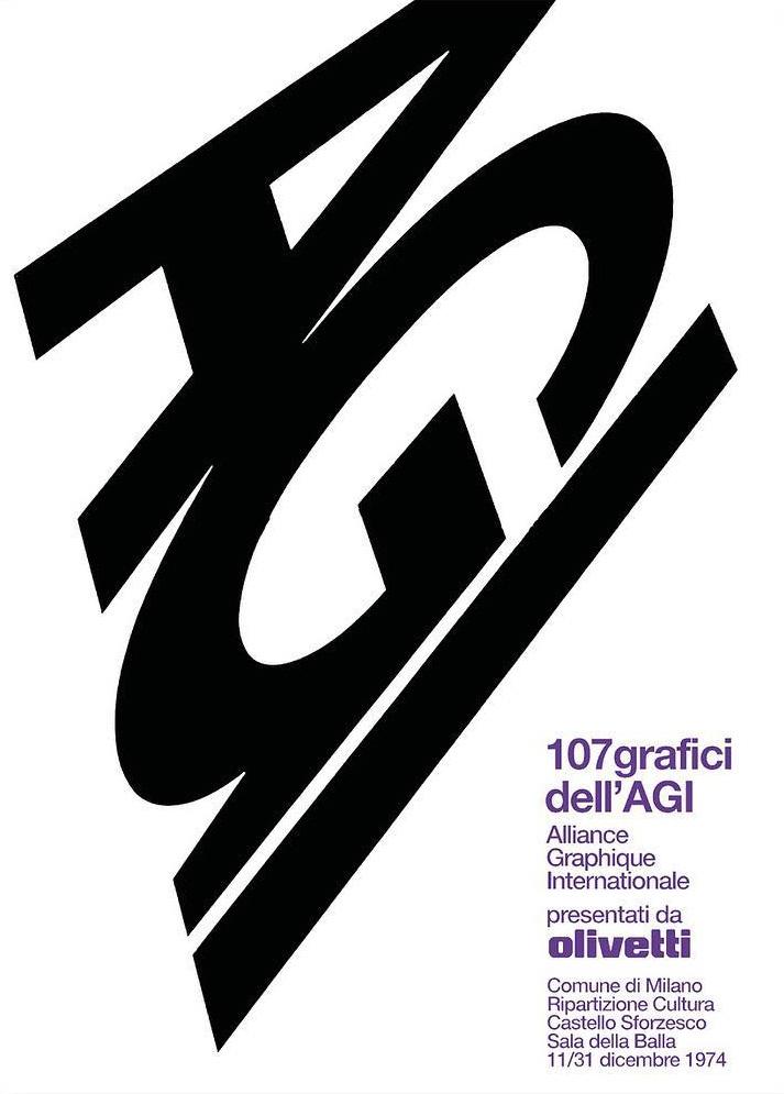Milan, 107 Grafici dell'AGI, 1974