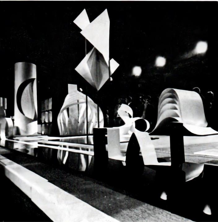 Design ricerche plastiche, Milan, 1969