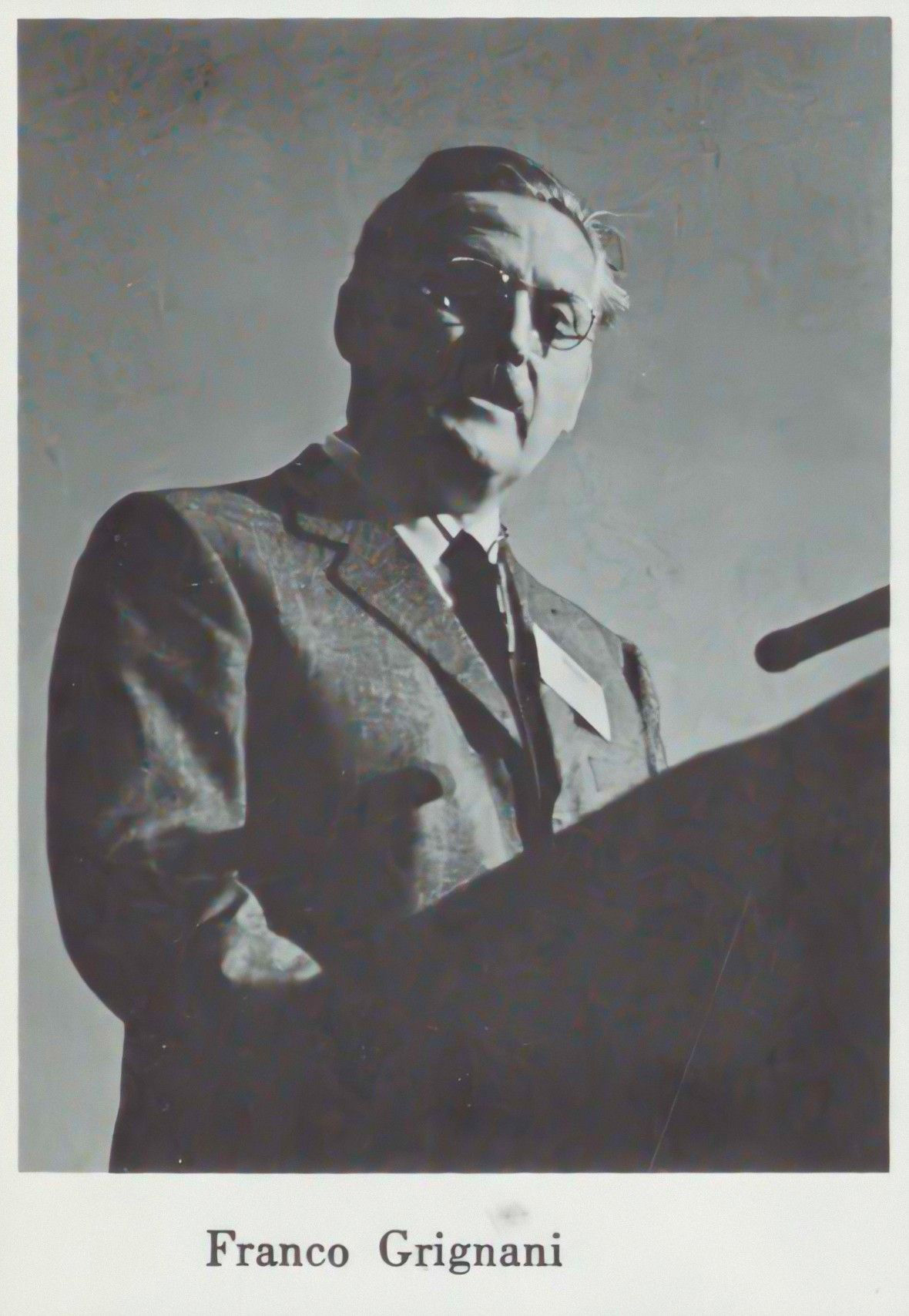 Southern Alumnus, Franco Grignani at Vision 65