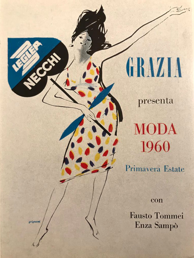 Jeanne Grignani for Grazia, 1960