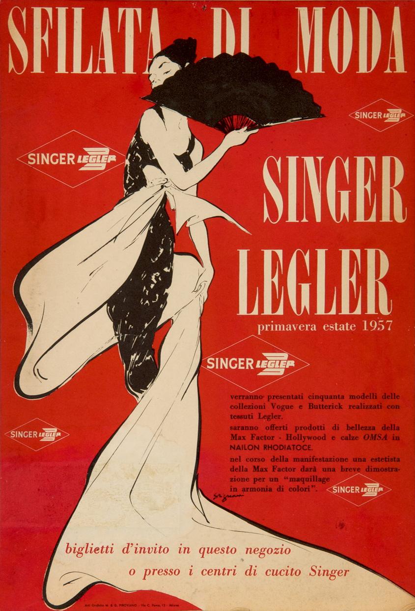 Jeanne Grignani for Legler, 1957