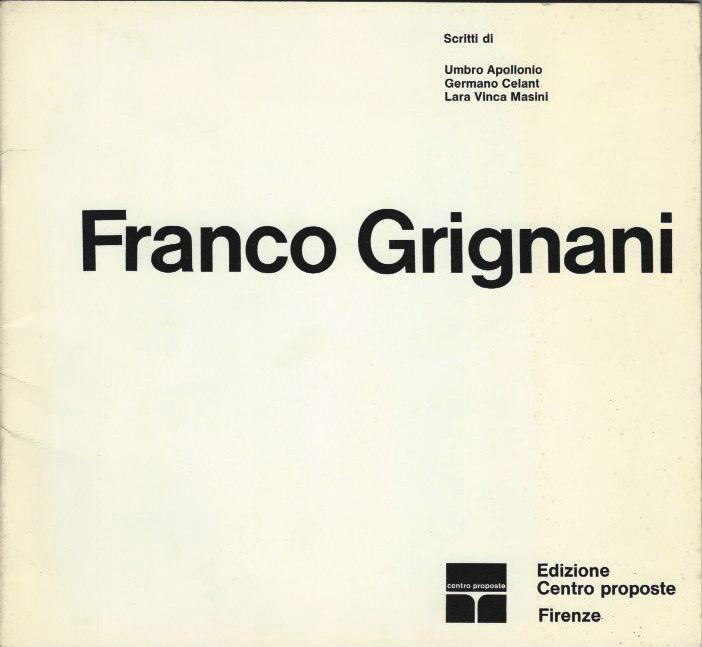 Franco Grignani, Centro proposte, 1966
