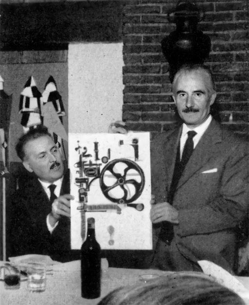 """Franco Grignani, """"Giarrettiera pubblicitaria"""" Award, 1959"""