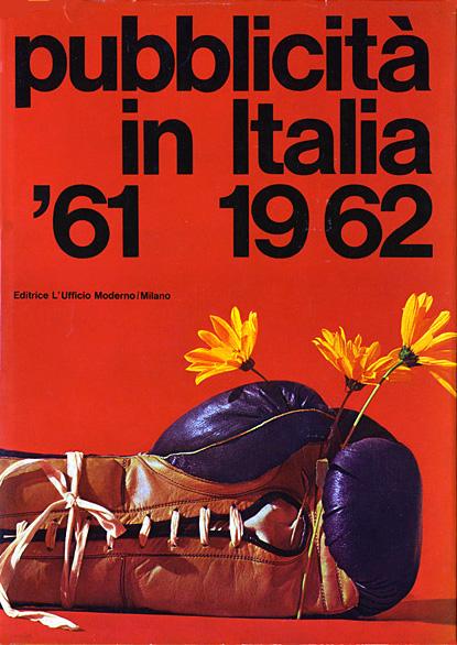 Franco Grignani, cover for Pubblicità in Italia, 1962