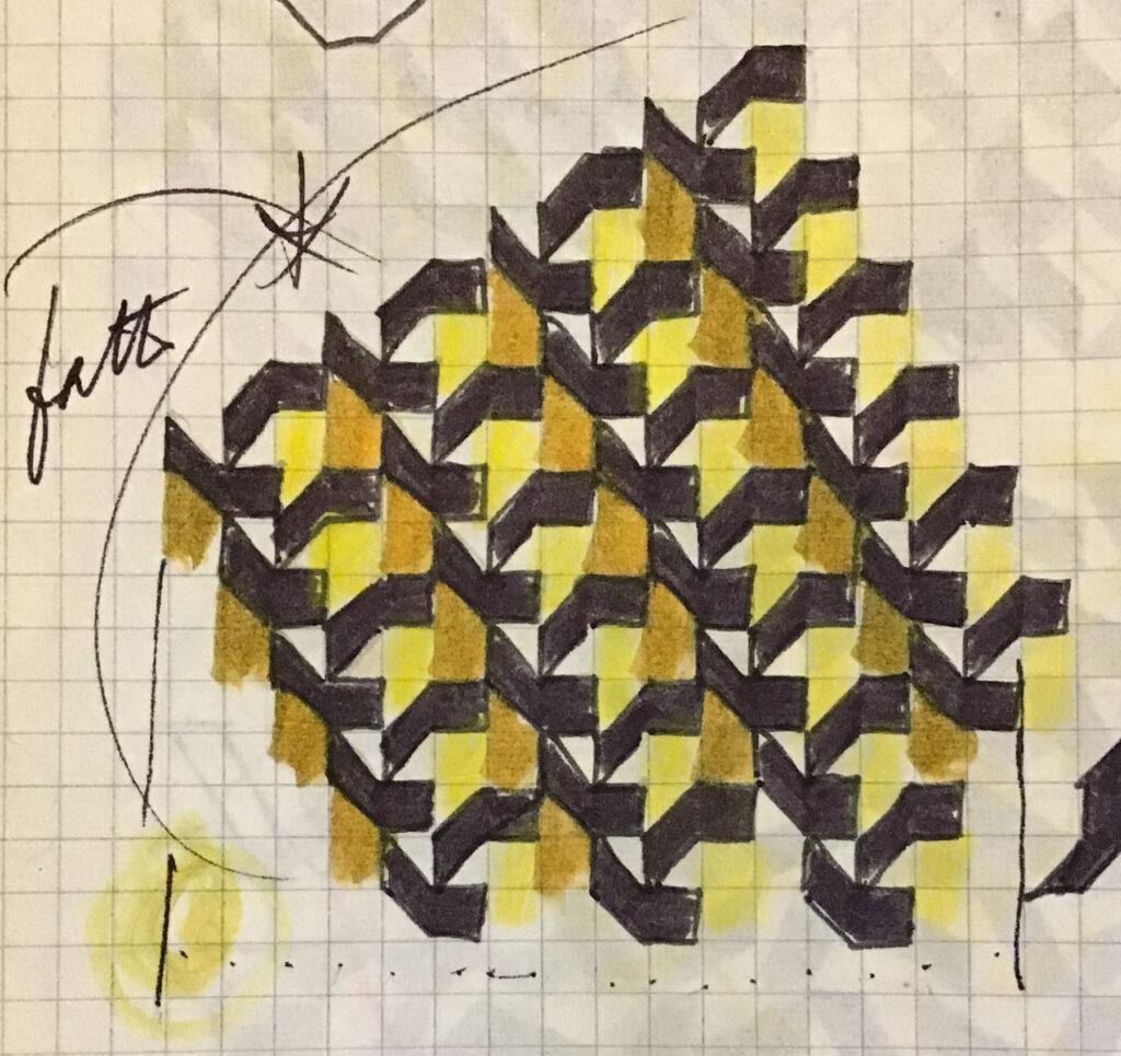 Franco Grignani, a matrix of a module (sketch)