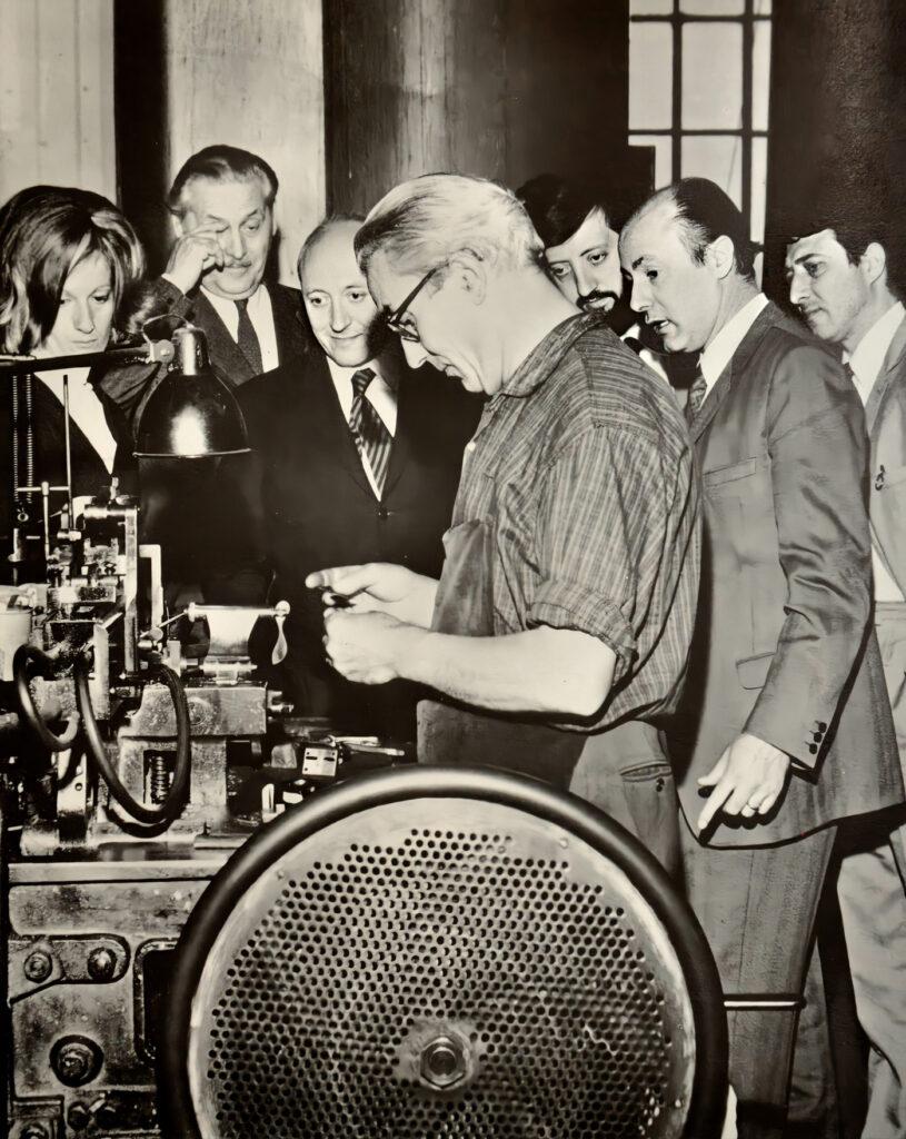 Franco Grignani and the Dream Team in Nebiolo, 1969 [3]