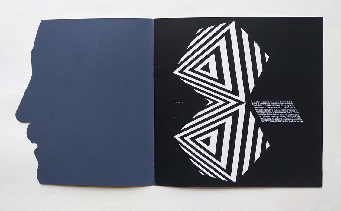 Franco Grignani profile, 6 graphic designers italianos presentados por Hispano Olivetti, 1971