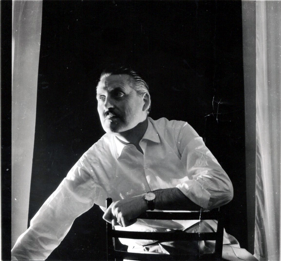 Franco Grignani, portrait