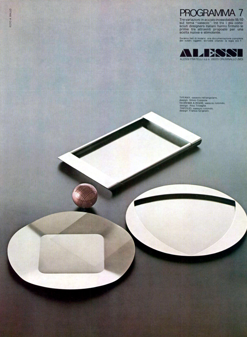 Ad for 'Programma 7', Feb 1975