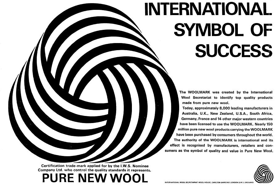 Woolmark Ad, 1966