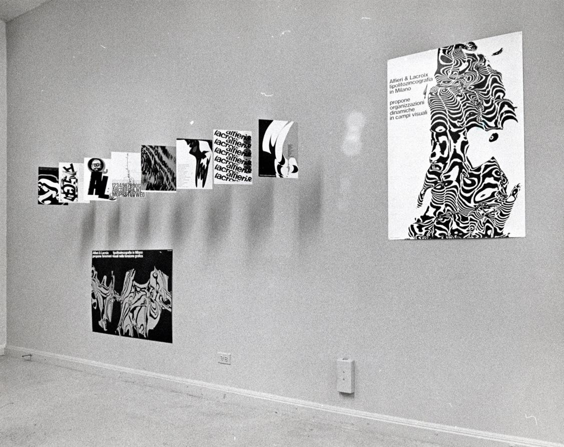 Franco Grignani, 500d Gallery, Chicago, 1966