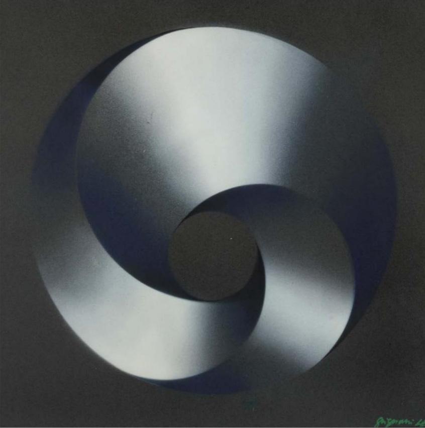 Franco Grignani, Continuous centripetal structure, 1948
