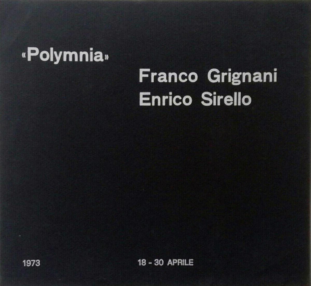 Franco Grignani, Galleria Polymnia, 1973
