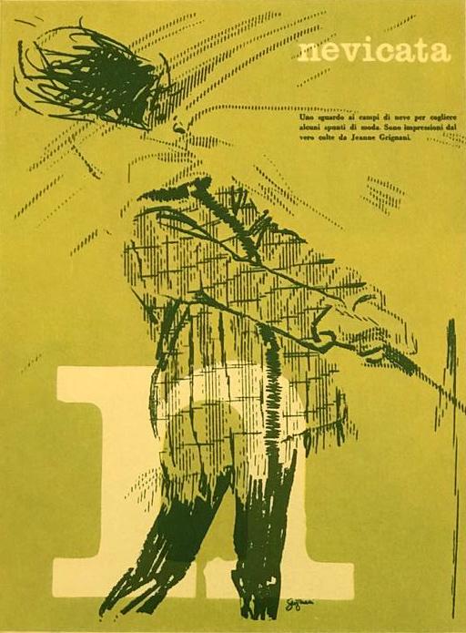 Jeanne Grignani, Ad for Arbiter, 1960