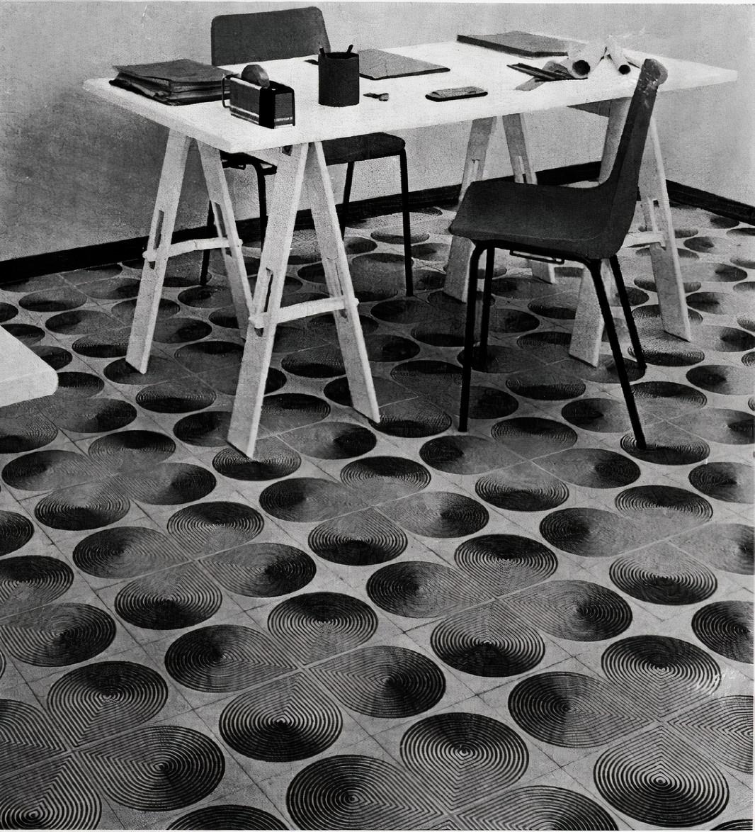 Franco Grignani for Ceramica Gresparma