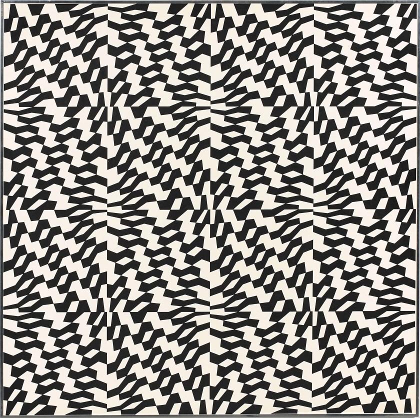 Franco Grignani, Dynamic permutation 59/A, 1961