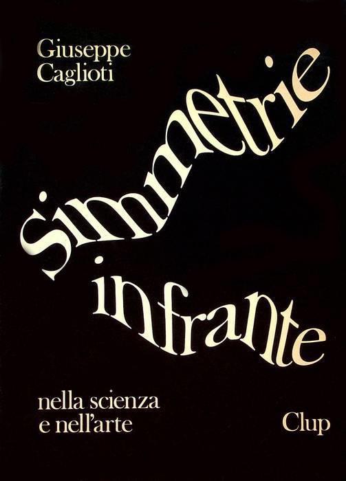 Franco Grignani, cover for Simmetrie infrante, 1983